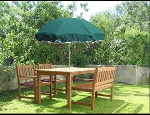 Green residential umbrella rendering