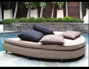 Custom pad cushions for patio furniture in Van Nuys