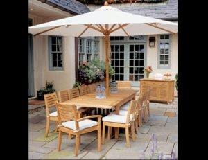 White residential umbrellas and custom umbrella design
