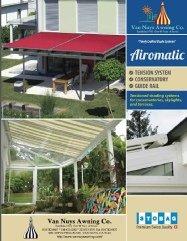 Airomatic custom awning brochure