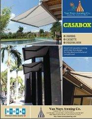 Casabox custom awnings brochure