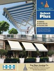 Brochure for custom storefront awnings