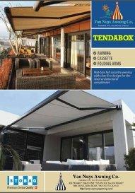 Van Nuys brochure for custom retractable awnings