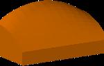Custom 3D model of an awning