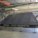 Custom awning for RE/MAX Estate Properties