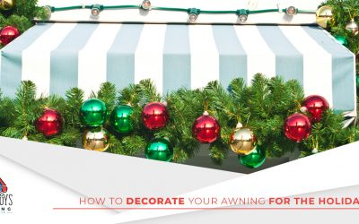 How To Decorate Your Awning For The Holidays